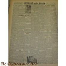 Krant Nieuwsblad van het Noorden vrijdag 26 nov 1943
