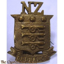 Cap badge Army Ordnance Corps New Zealand WW2