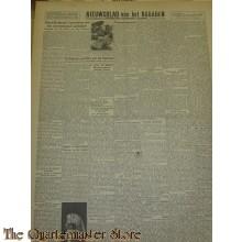 Krant Nieuwsblad van het Noorden dinsdag 30 nov 1943