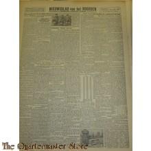 Krant Nieuwsblad van het Noorden 2 dec 1943