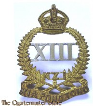 Cap badge , 13th (North Canterbury and Westland)