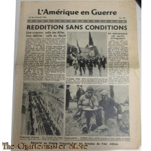 L'Amerique on Guerre 26 july 1944 no 112