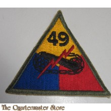Mouwembleem 49e Armored Division (sleeve badge 49th Armoured Division)