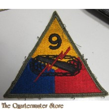 Mouwembleem 9e Armored Divison (Sleevebadge 59h Armored Division)
