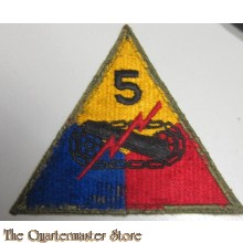 Mouwembleem 5e Armored Divison (Sleevebadge 5th Armored Division)
