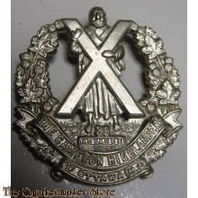 Collar badge Cameron highlanders of Ottawa MG