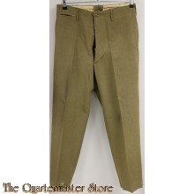 WW2 M37 Enlisted mans wool trousers (Mustards)