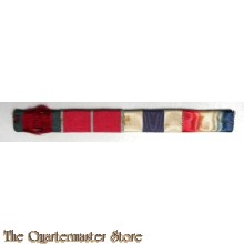 Baton set DSO,MBE,MC and 1914-15 Star  (Ribbon bar DSO,MBE,MC and 1914-15 Star)