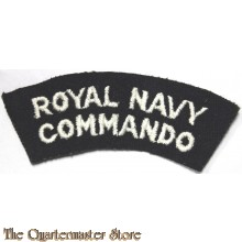 Shoulder flash Royal Navy Commando