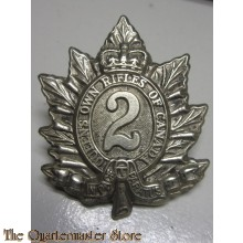 Cap badge The Queen's Own Rifles of Canada