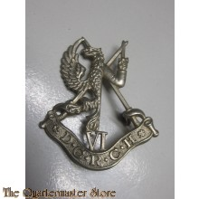 Cap badge Duke of Connaughts Royal Canadian Hussars WW2