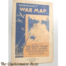 Hammond / War Map WW2 Pacific Ocean