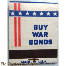 Matchbook BUY WAR BONDS