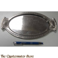 metal serving plate NS Frauenschaft Tappendorf 1936
