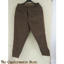 Broek wol manschappen Bulgarije (Breeches wool EM Bulgaria)