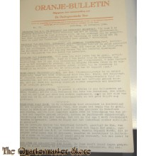Oranje Bulletin no 28 18 nov 1944