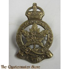 Capbadge Royal Montreal Regiment WW2