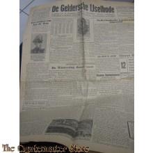 Krant de Geldersche Ijsselbode Gerardus Mooijman