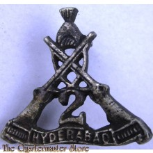 Collar badge 2nd Hyderabad Rifles