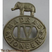 Cap badge Madras Pioneers