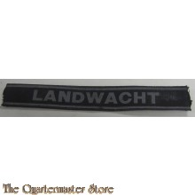 Dutch NSB-related 'Landwacht' Cufftitle