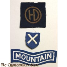 Formation patch 51th (Highland) Infantry Division