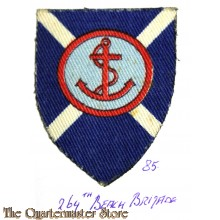 Formation patch 264th Scottish Beach Brigade (canvas)