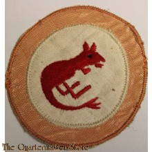"""Formation patch 7th Armoured Division """"Desert Rats"""" (1st patt)"""