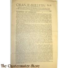 Krant Oranje Bulletin no 29