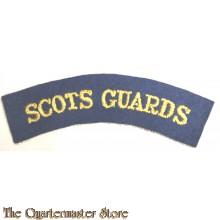 Shoulder flash Scots Guards