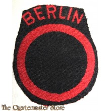 Formation patch British Troops Berlin