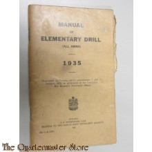 Manual Elementry drill 1935 Canada