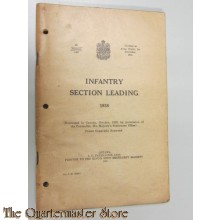 Manual Infanrty Section leading 1938 Canada