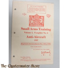 Manual Small Arms Training Canada Vol 1 Pamphlet no 6 1937