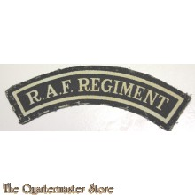 Schouder flash RAF Regiment (canvas)