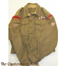 Battle dress jacket captain of The Life Guards (Guards Armoured Division)