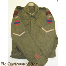 Battle dress jas P40 Elgin regiment (Battle dress jacket P40 Elgin regiment)
