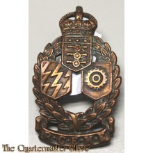 Cap badge Royal Canadian Electrical and Mecanical Engineers (RCEME)