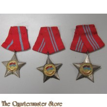 "Medal Soldier of Liberation Viet Cong  ""chien Si Giai Phong"" (3 grades)"