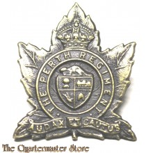 Cap badge The Perth Regiment, 5th Canadian Division