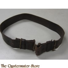 WW1 model P-08 leren koppel (WWI British P-08 pattern Leather Waist Belt)