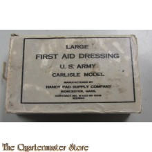 Large first aid dressing US Army Carlisle model