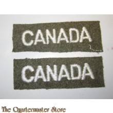 Shoulder titles CANADA