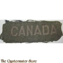 Shoulder title CANADA