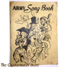 Army song book 1941