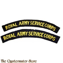 Shoulder flashes Royal Army Service Corps (RASC)