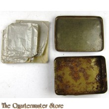 Issue WW2 ration box for cigarettes