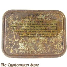 WW2 Issue Tea Ration Tin