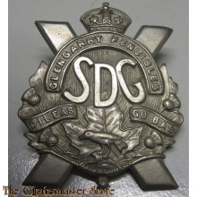 Cap badge The Stormont, Dundas and Glengarry Highlanders