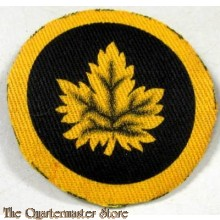 Formation Patch Canadian Military Headquarters  (canvas)